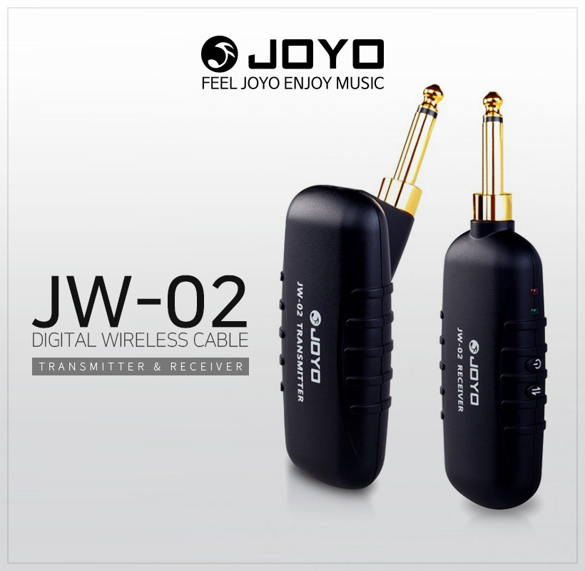 JOYO JW-02 Digital Wireless Cable Transmitter&Receiver