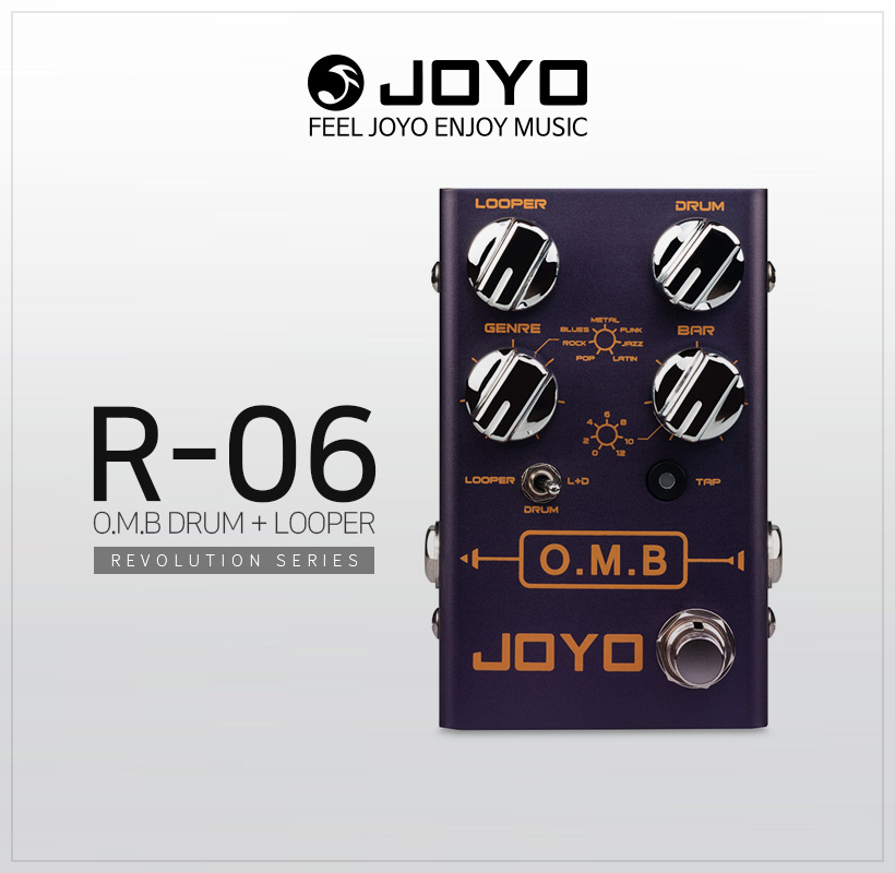 JOYO R-06 O.M.B DRUM+LOOPER