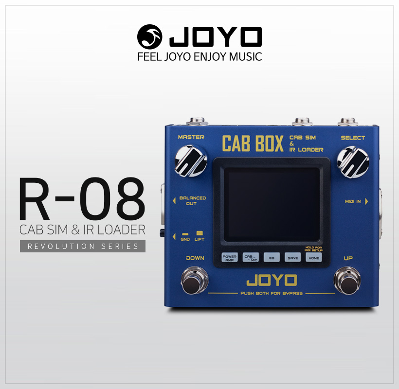 JOYO R-08 CAB BOX SIM&IR LOADER